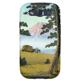 Cool oriental japanese landsape scenery Mt. Fuji Samsung Galaxy SIII Cases