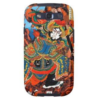 Cool oriental japanese legendary hero Samurai art Galaxy SIII Case