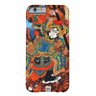 Cool oriental japanese legendary hero Samurai art Barely There iPhone 6 Case