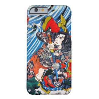Cool oriental japanese Legendary Hero Samurai Barely There iPhone 6 Case
