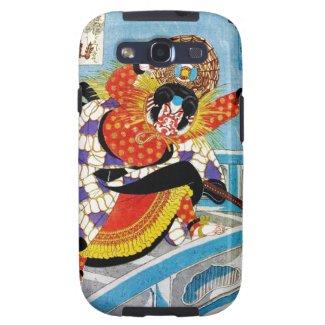 Cool oriental japanese Legendary Hero Warrior art Samsung Galaxy S3 Cover