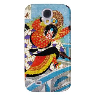 Cool oriental japanese Legendary Hero Warrior art Galaxy S4 Cover