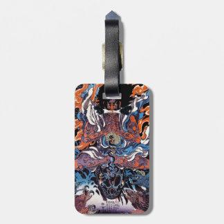 Cool oriental japanese Legendary Sanin warrior art Bag Tag