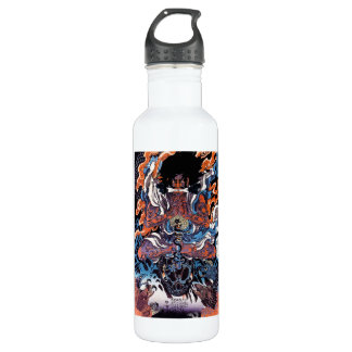 Cool oriental japanese Legendary Sanin warrior art Stainless Steel Water Bottle