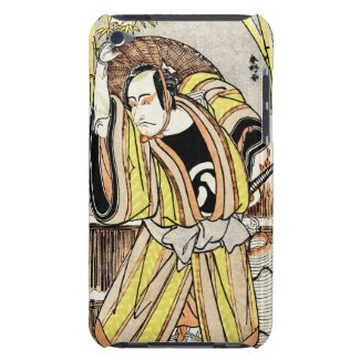 Cool oriental japanese legendary warrior samurai Case-Mate iPod touch case