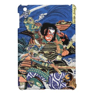 Cool oriental japanese legendary warrior samurai iPad mini case