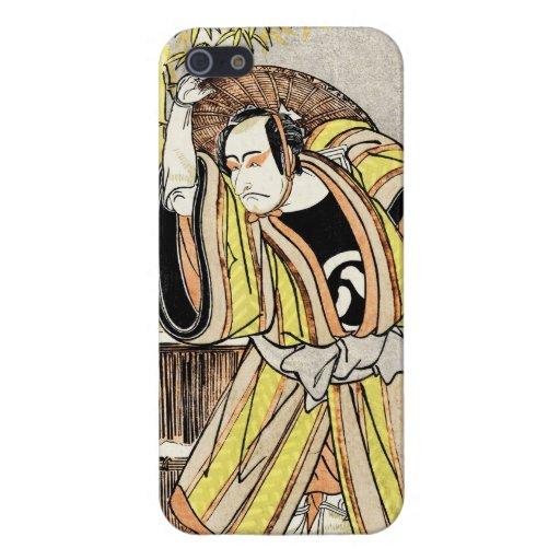 Cool oriental japanese legendary warrior samurai iPhone 5 cover