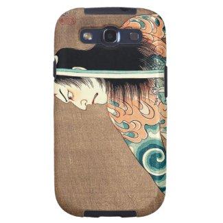 Cool oriental japanese Natsumatsuri Danschich art Samsung Galaxy S3 Covers