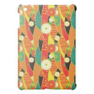 Cool oriental japanese pattern iPad case