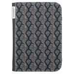 Cool oriental japanese peacock abstract pattern kindle case
