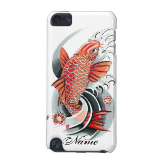 Cool Oriental Japanese Red Koi Carp Fish tattoo iPod Touch 5G Cover