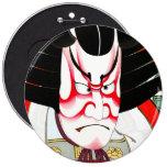 Cool Oriental Japanese Shibaraki tattoo Pinback Button