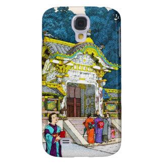 Cool oriental japanese shrine temple people hanga samsung galaxy s4 covers