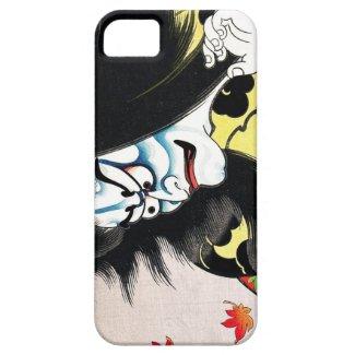 Cool oriental japanese Togakushi kabuki actor iPhone 5 Cases