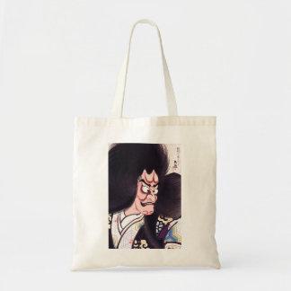 Cool Oriental Japanese Tsuchigumo Kabuki tattoo Tote Bag