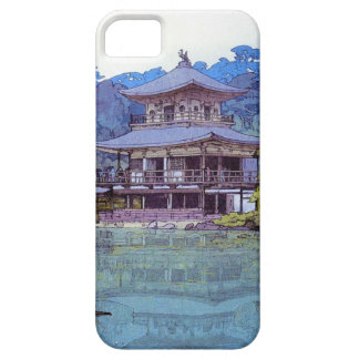 Cool oriental japanese watercolour temple painting iPhone SE/5/5s case