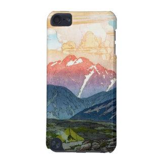 Cool oriental japanese Yoshida Mountain pass art iPod Touch 5G Case