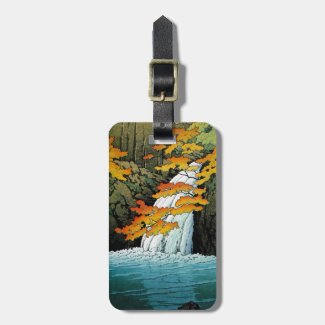 Cool oriental japaneseSenju Waterfall Akame Bag Tags