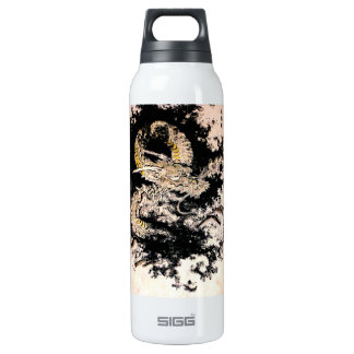 Cool oriental Legendary Ancient Chinese Dragon ink 16 Oz Insulated SIGG Thermos Water Bottle