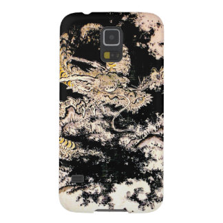 Cool oriental Legendary Ancient Chinese Dragon ink Cases For Galaxy S5