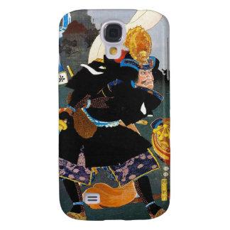 Cool oriental legendary Ancient Samurai General Galaxy S4 Cover