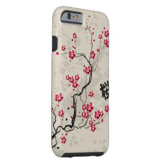 Cool Oriental Style Sakura Cherry Blossom Art Tough iPhone 6 Case