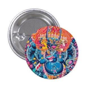 Cool oriental tangka Yamantaka death god tattoo Pins