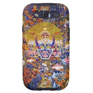 Cool oriental tangka Yamantaka death god tattoo Galaxy SIII Cases