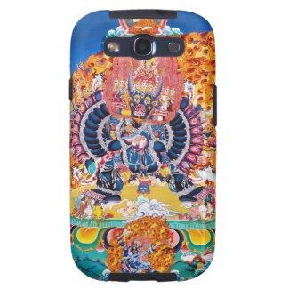 Cool oriental tangka Yamantaka death god tattoo Galaxy SIII Covers
