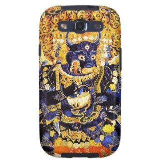 Cool oriental tangka Yamantaka death god tattoo Samsung Galaxy SIII Covers