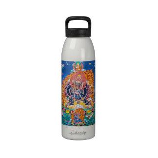 Cool oriental tangka Yamantaka death god tattoo Drinking Bottle