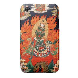 Cool oriental tibetan god thangka tattoo art Case-Mate iPhone 3 case