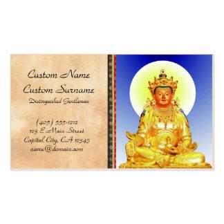 Cool oriental Tibetan Thangka art Business Card