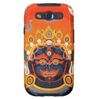 Cool oriental tibetan thangka Bhairava tattoo art Galaxy SIII Case
