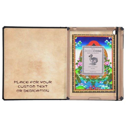 Cool oriental tibetan thangka Bhaisajyaguru tattoo Case For iPad