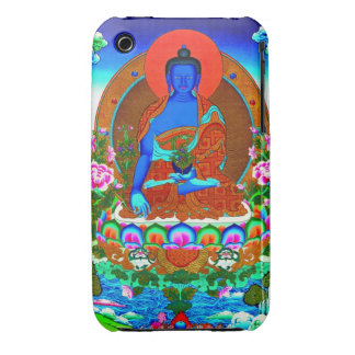 Cool oriental tibetan thangka Bhaisajyaguru tattoo iPhone 3 Cover