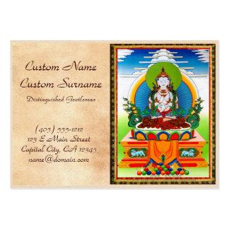 Cool oriental tibetan thangka Buddha Locani Business Card
