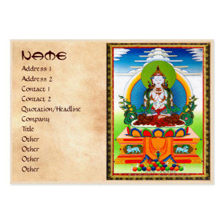 Cool oriental tibetan thangka Buddha Locani Business Cards