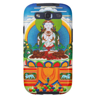 Cool oriental tibetan thangka Buddha Locani Samsung Galaxy SIII Case