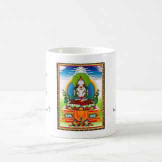Cool oriental tibetan thangka Buddha Locani Mug