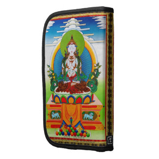 Cool oriental tibetan thangka Buddha Locani Organizers