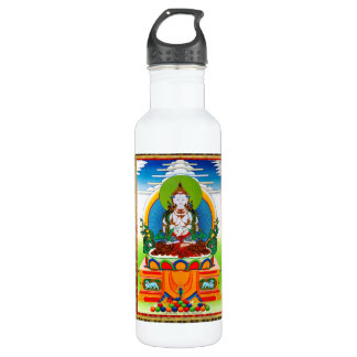 Cool oriental tibetan thangka Buddha Locani Water Bottle