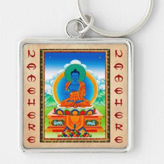Cool oriental tibetan thangka DaZ i Zai Wan Fo Keychain