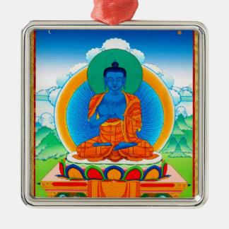 Cool oriental tibetan thangka DaZ i Zai Wan Fo Metal Ornament