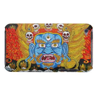Cool oriental tibetan thangka demon tattoo art iPod touch cases