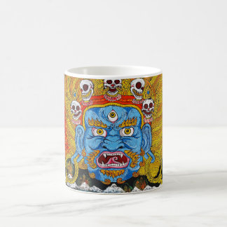Cool oriental tibetan thangka demon tattoo art coffee mug