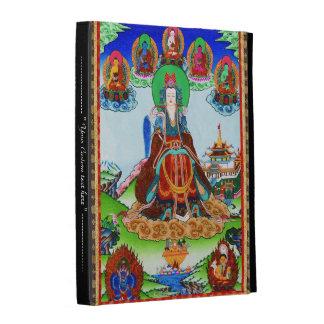 Cool oriental tibetan thangka god tattoo art iPad case