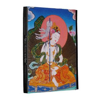 Cool oriental tibetan thangka god tattoo art iPad folio case