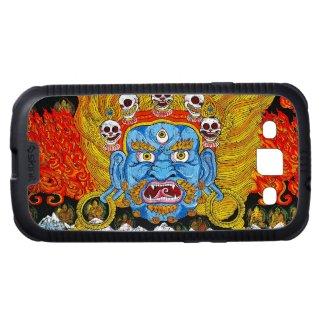 Cool oriental tibetan thangka god tattoo art samsung galaxy SIII cases