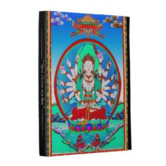 Cool oriental tibetan thangka god tattoo art iPad folio cover